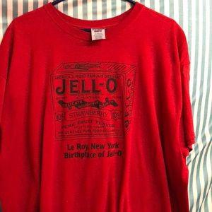 Jell-O adult collector's unisex sz XXL tee new